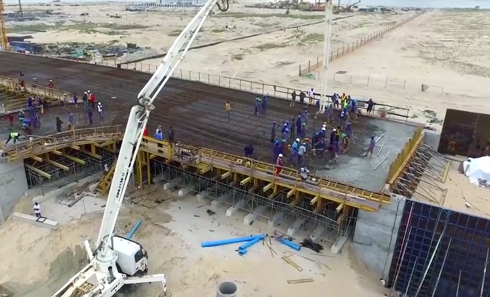 Check Out Eko Atlantic's Progress | Eko Pearl Towers