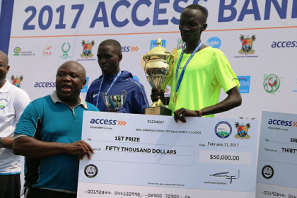 Access Bank Lagos City Marathon 2017 Winners | Eko Pearl Towers