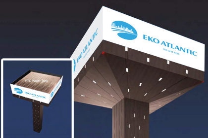 The Eko Atlantic City Water System | Eko Pearl Towers