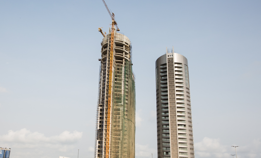 Updates On Construction Of Eko Champagne Tower | Eko Pearl Towers