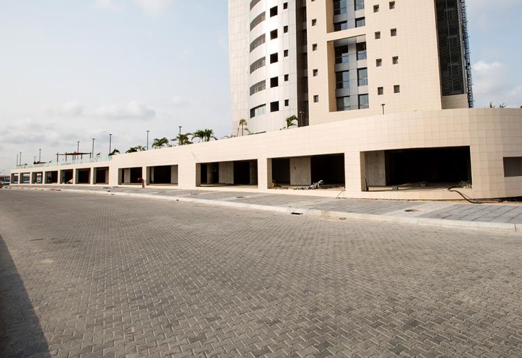 Eko Pearl Towers Luxury Shops Are Coming Along | Eko Pearl Towers