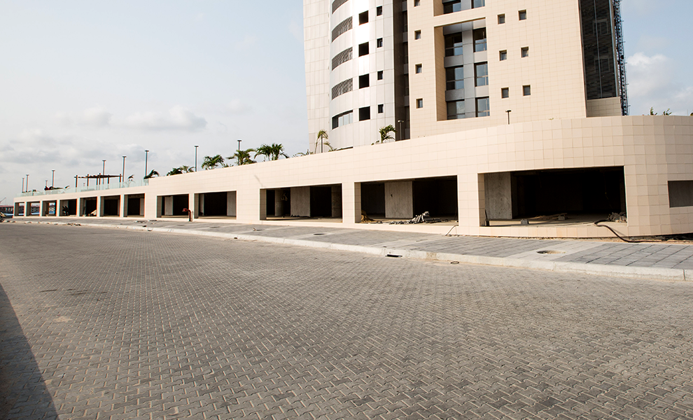 Eko Pearl Towers Luxury Shops Are Coming Along | Eko Pearl Towers