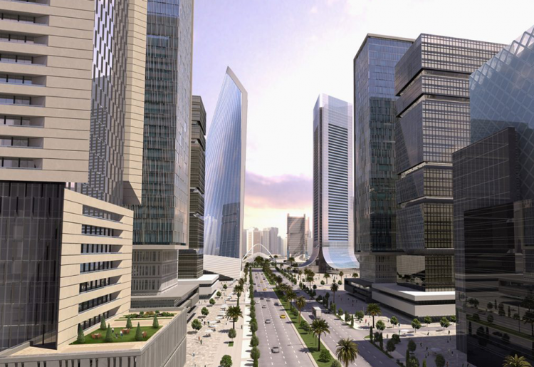 The Grand Eko Atlantic Boulevard | Eko Pearl Towers