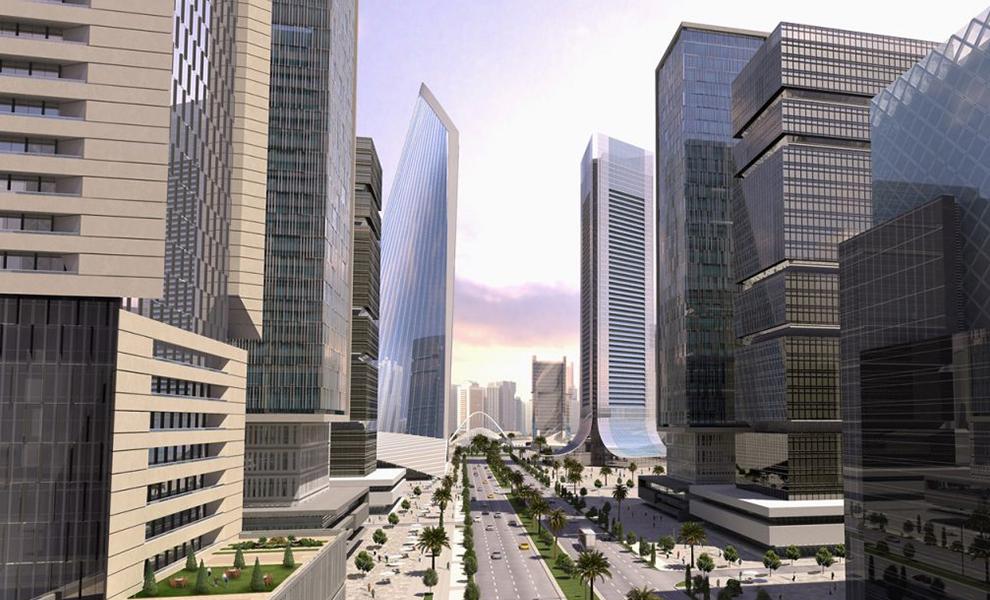 The Grand Eko Atlantic Boulevard | Eko Pearl Towers