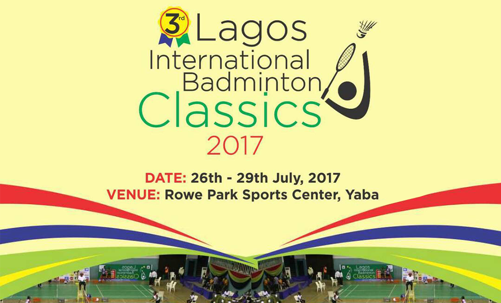 The Lagos International Badminton Classics 2017   Eko Pearl Towers