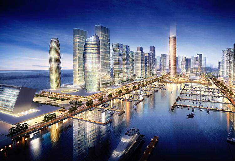Investing In Eko Atlantic Is A Great Idea According To Experts   Eko Pearl Towers