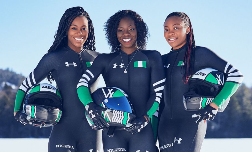 Nigerian Bobsled Team Returns From The 2018 Winter Olympics | Eko Pearl Towers