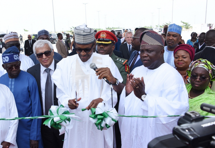 President Muhammadu Buhari Visited Eko Atlantic City | Eko Pearl Towers