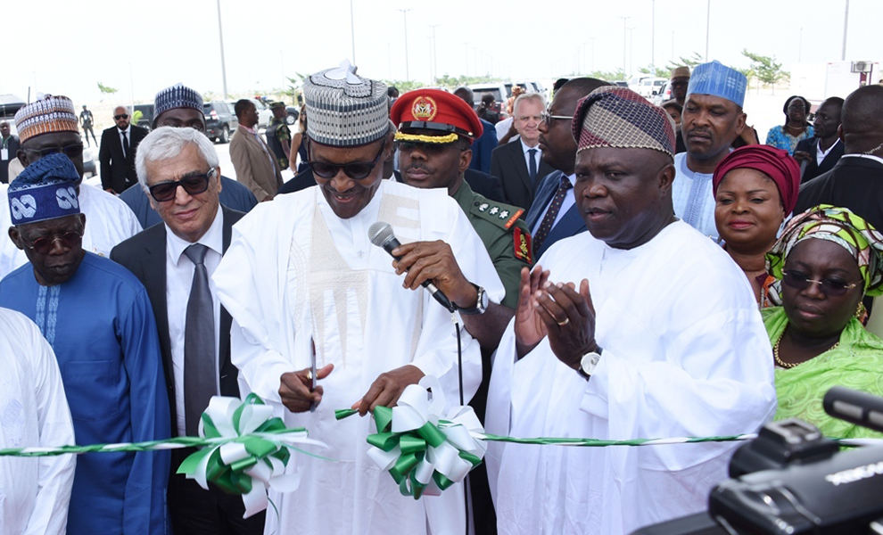 President Muhammadu Buhari Visited Eko Atlantic City | Eko Pearl Towers